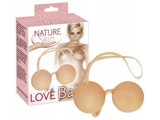 Kulki gejszy z wibracją love balls nature skin