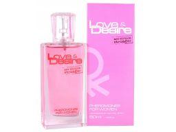 Love&desire perfumy z feromonami damskie 50ml