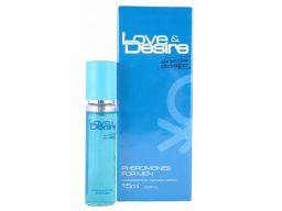 Love&desire perfumy z feromonami męskie 15ml