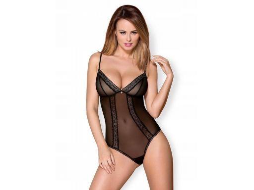 Eleganckie seksowne body obsessive 862-ted-1 l/xl
