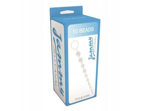 10 dogłębnych żelowych kulek jammy jelly 10 beads
