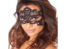 Maska wenecka haftowana maska na oczy koronkowa