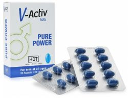V-activ - tabletki na potencję mega erekcja 20 szt